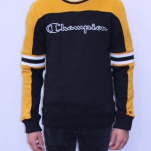 CHAMPION Sweatshirt Colour Block Black