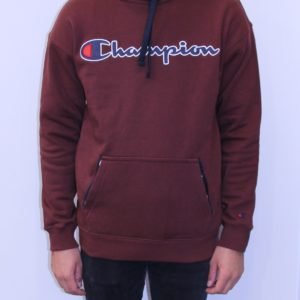 CHAMPION Sweatshirt à capuche choco