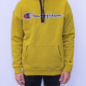 CHAMPION Sweatshirt à capuche jaune