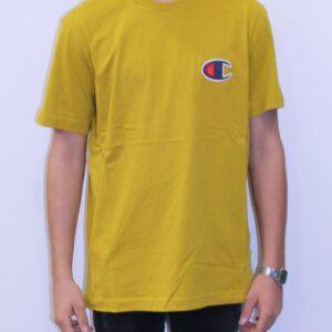 CHAMPION Tee shirt logo C jaune