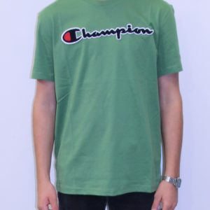 CHAMPION Tee shirt logo vert