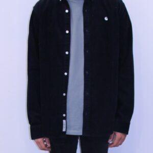 CARHARTT WIP Chemise Cord Shirt Black