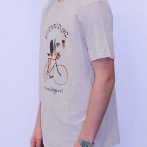 BON MOMENT VENTOUX Tee shirt Bio beige Degun