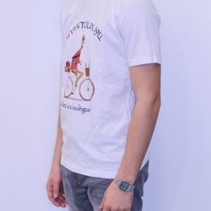 BON MOMENT VENTOUX Tee shirt Bio Blanc Boulegue