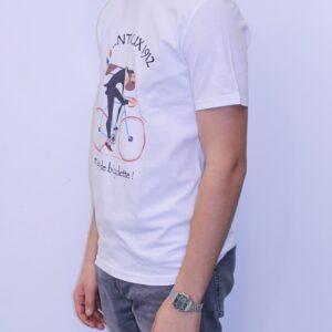 BON MOMENT VENTOUX Tee shirt Bio Gris Chiné Fada