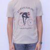 Sport Aventure Orange tee shirt BONMOMENT Fada desert Ventoux Bon Moment sport et mode homme femme