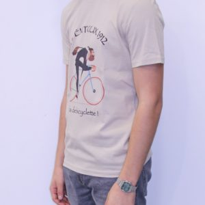BON MOMENT VENTOUX Tee shirt Bio beige Fada