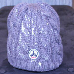 JOTT Bonnet  laine argenté