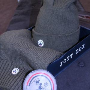 JOTT – Box Bonnet et Echarpe Kaki