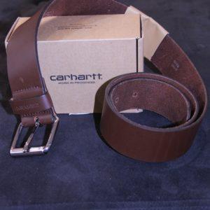 CARHARTT WIP Ceinture Cuir Brown