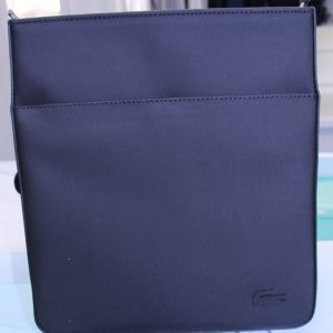 LACOSTE Sacoche Flat Crossover Bag Noir