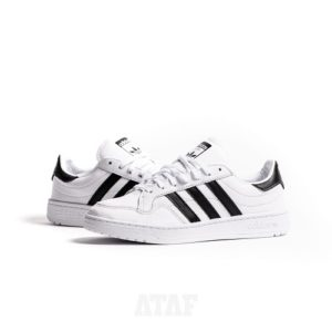 ADIDAS TEAM COURT White