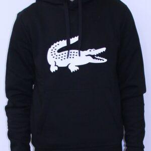 LACOSTE SH8687 Sweatshirt Capuche Noir
