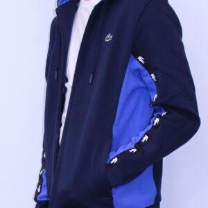 LACOSTE Sweatshirt à Capuche Zippé bicolore