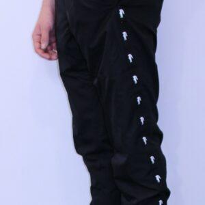 LACOSTE Pantalon de Survêtement à Bandes Noir