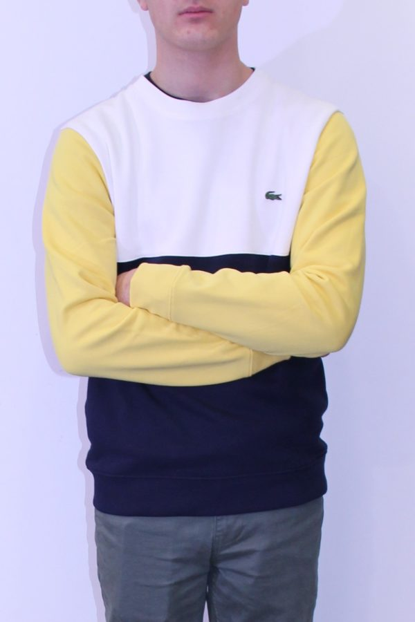 sweatshirt Lacoste colorblock