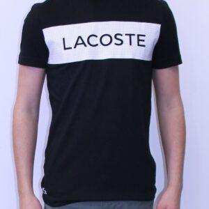LACOSTE Sport tee-shirt Noir