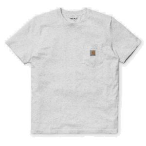 CARHARTT WIP Tee-Shirt S/S Pocket Grey