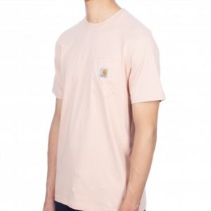 CARHARTT WIP Tee-Shirt S/S Pocket Powdery