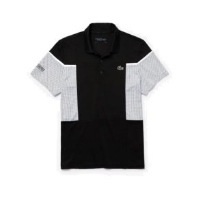 LACOSTE Polo Sport Black White
