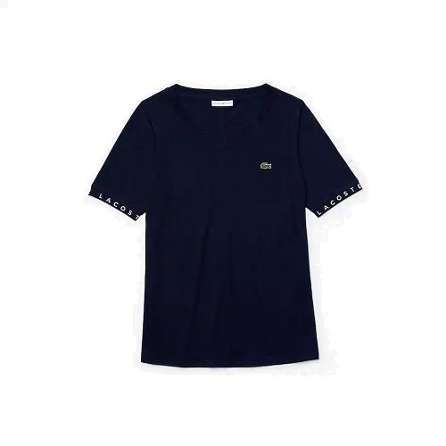 tee-shirt Lacoste col bateau