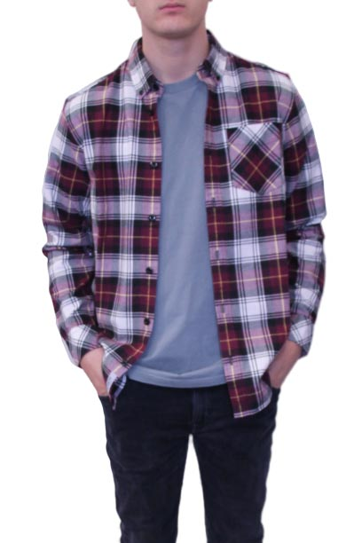 chemise carharrt carreaux