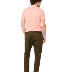LACOSTE Polo Slim Fit Piqué de Coton Uni Rose