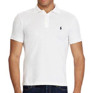 RALPH LAUREN Polo Slim Fit White