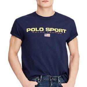 RALPH LAUREN Tee shirt Polo sport Navy