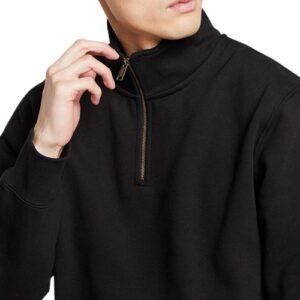 CARHARTT Sweatshirt chase zip black