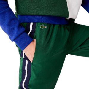 LACOSTE Pantalon sport vert