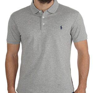 RALPH LAUREN Polo Slim Fit Grey