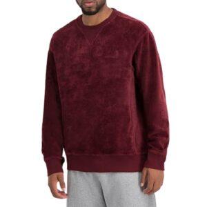 CARHARTT Sweatshirt velours bordeaux