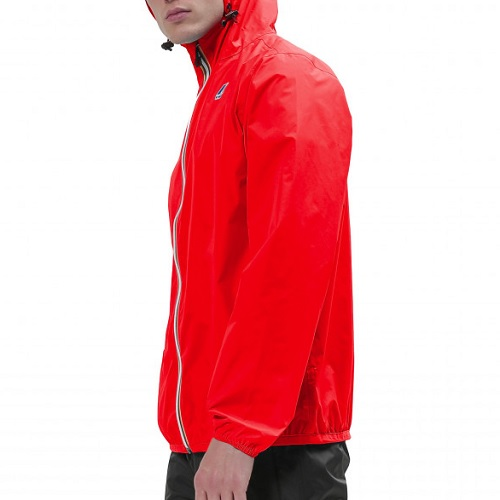 coupe vent kway fluo