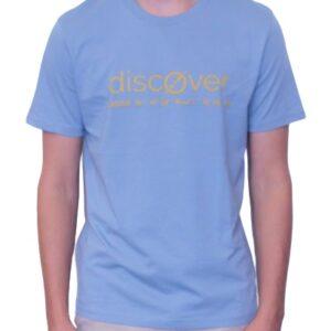BONMOMENT T-shirt Coton Bio Discover Blue