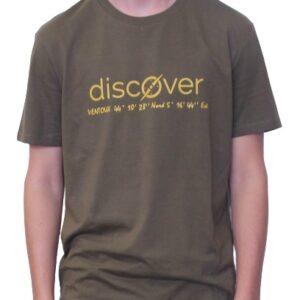 BONMOMENT T-shirt Coton Bio Discover Kaki