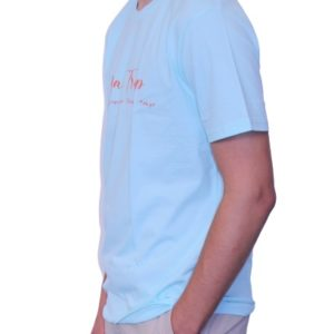 BONMOMENT T-shirt Coton Bio Road Trip Blue