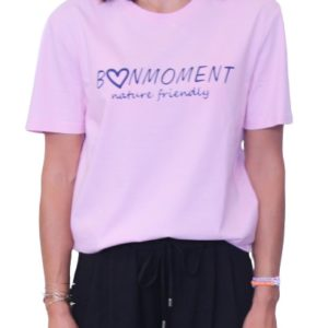 BONMOMENT T-shirt Coton Bio Friendly Rose