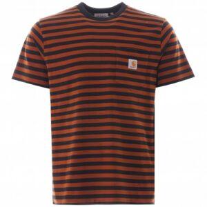 CARHARTT WIP T-shirt PARKER brandy