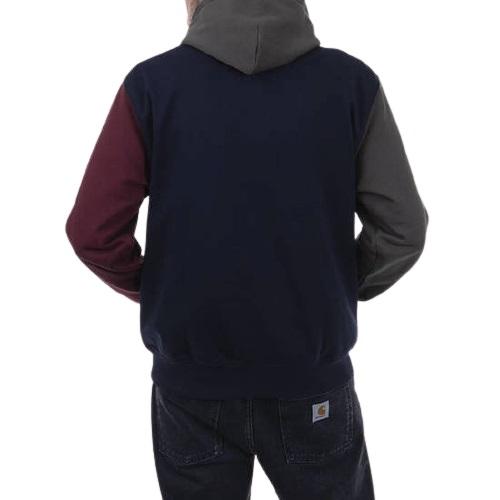 Sport aventure Orange sweatshirt a capuche Carhartt wip hooded tricol coton magasin de vêtement chaussures accessoires mode et sport