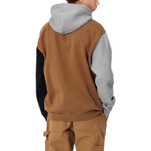 Sport aventure Orange sweatshirt a capuche Carhartt wip hooded tricolcoton magasin de vêtement chaussures accessoires mode et sport
