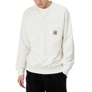 CARHARTT Pocket sweatshirt wax