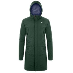 K WAY Parka Rémi Marmotta green