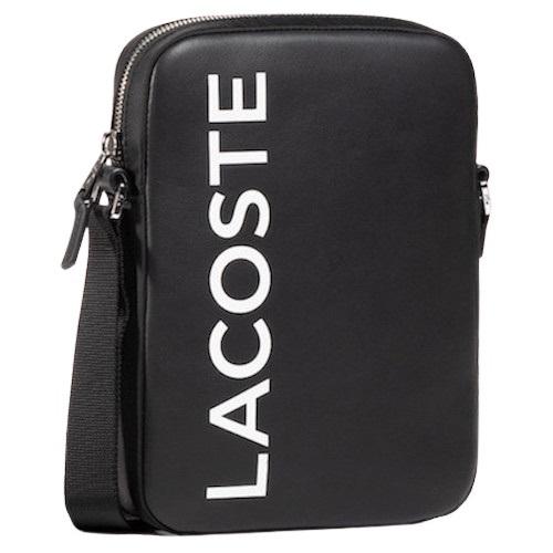 Sport Aventure Orange Sacoche Lacoste Signature L1212 magasin de vêtement accessoires chaussures homme et femme.