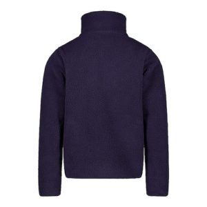 K WAY Bérenger marine sweat zippé