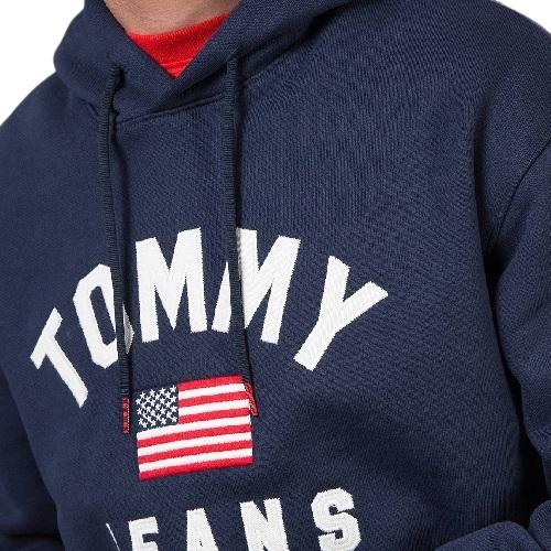 Sport aventure orange sweatshirt Tommy hilfiger homme