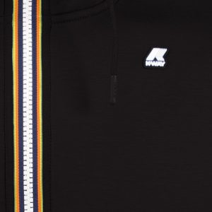 K WAY Bérenger noir sweat zippé