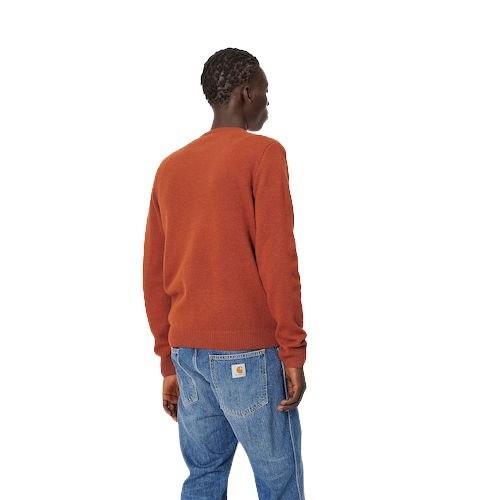Sport aventure orange pull Allen Carhartt magasin de vêtement et chaussures sport mode homme femme