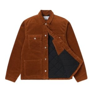 CARHARTT Michigan Veste velours brandy
