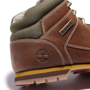 TIMBERLAND Euro sprint Bottines rust full en cuir